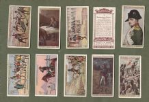 Collectable Tobacco cigarette cards Napoleon 1916,  set of 25